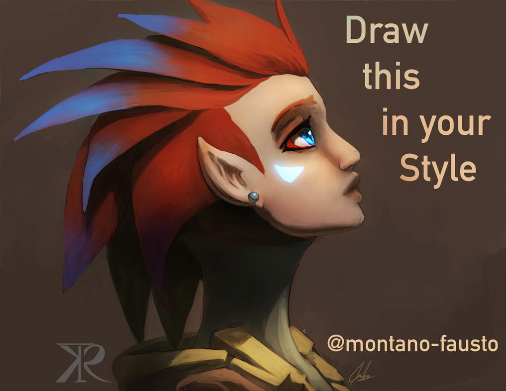 Draw this in your Style by Montano-Fausto
