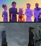 Two young Jedi, two different paths