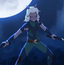 Full moon Rayla