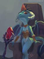 <b>Dragon Lord Ember</b><br><i>RaikohIllust</i>