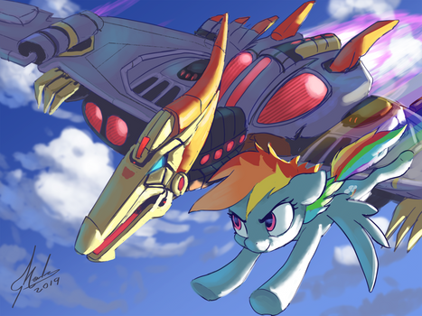 Commission - Swoop and Dash