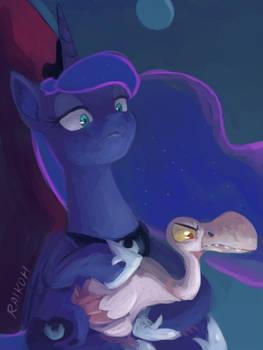 Luna by RaikohIllust