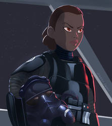 First Order pilot by RaikohIllust