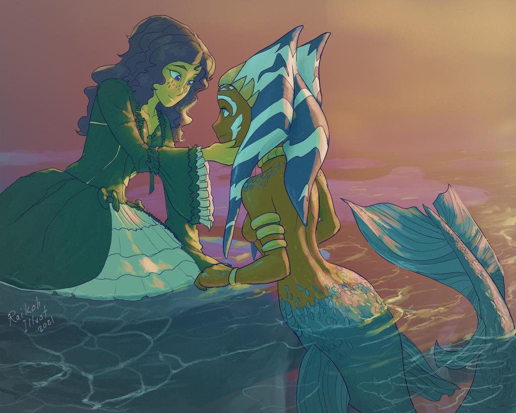 Illustration - Mermay