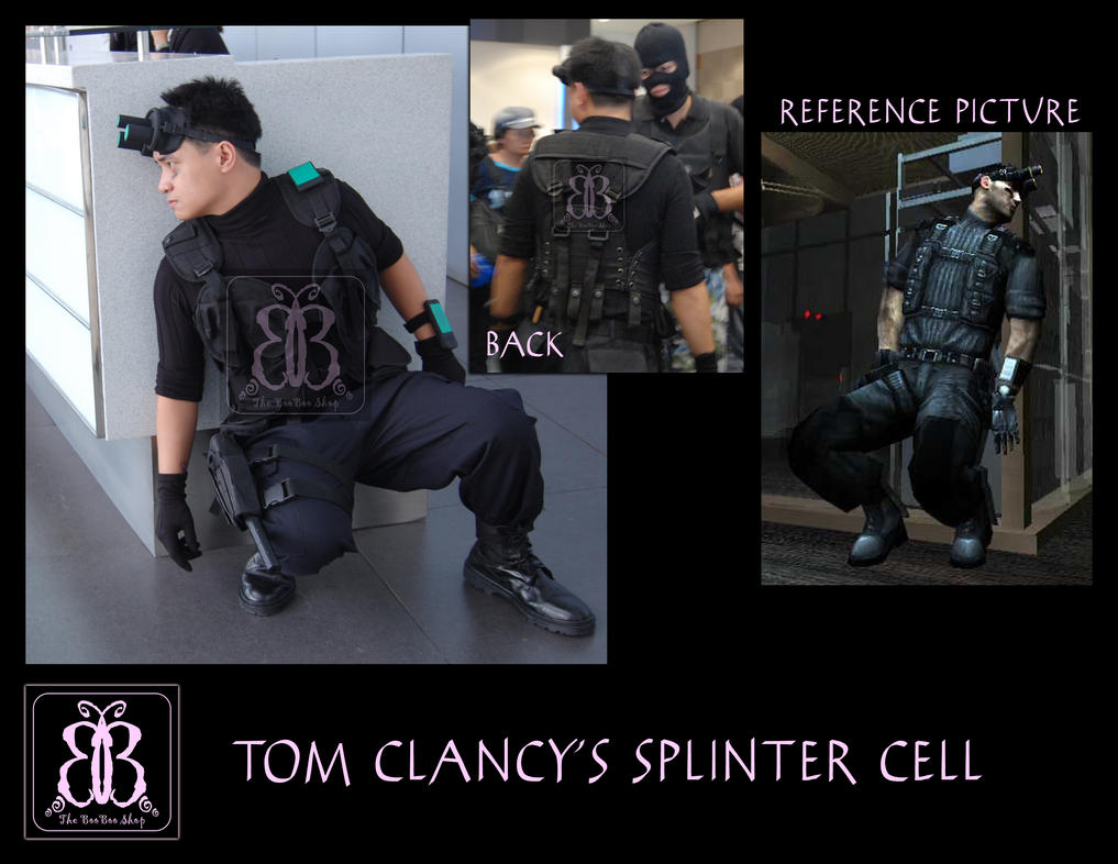 cosplay costume commission 19 by the booboo shop - Splinter Cell Halloween Costume