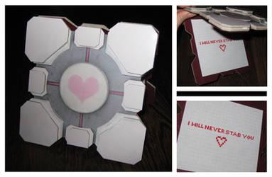 Companion Cube Card