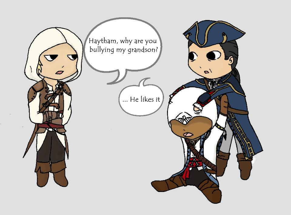 The Kenway Family By Mystiquas On Deviantart
