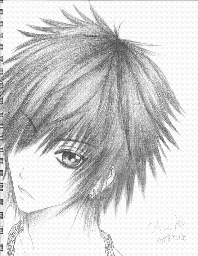 Anime boy by Anime-Dreamer93
