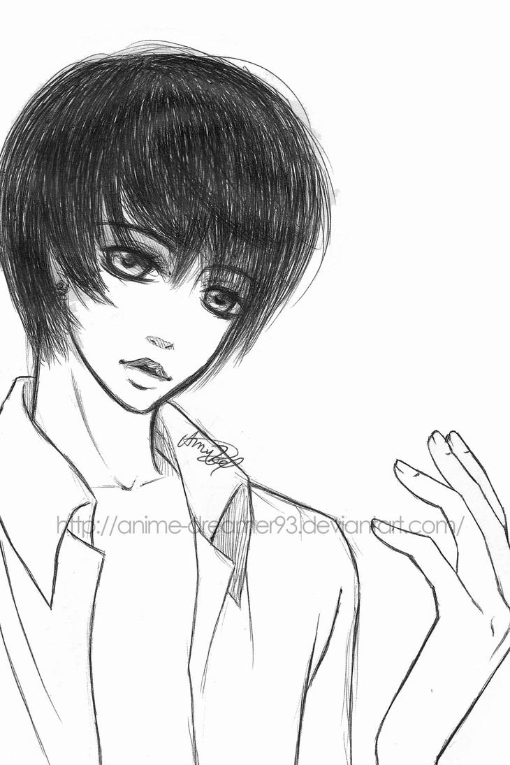 Cute Anime Boy by Anime-Dreamer93 on DeviantArt