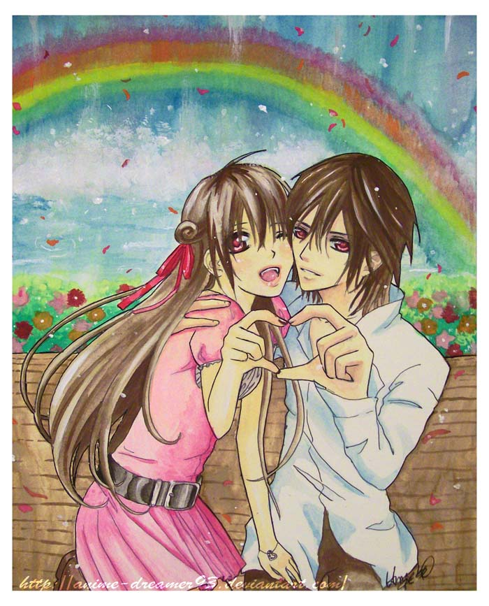 Happy valentines by anime dreamer93 on deviantart - Happy valentines day anime ...