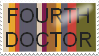 Fourth Doctor Stamp by YourPearlLove