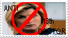 Anti 13th Doctor Stamp by YourPearlLove