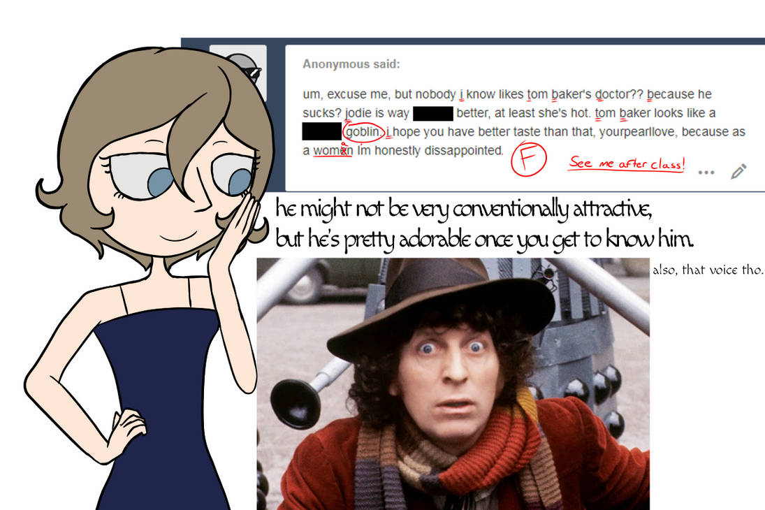 Anonymous Whittaker Fan Hate-Mail by YourPearlLove on DeviantArt