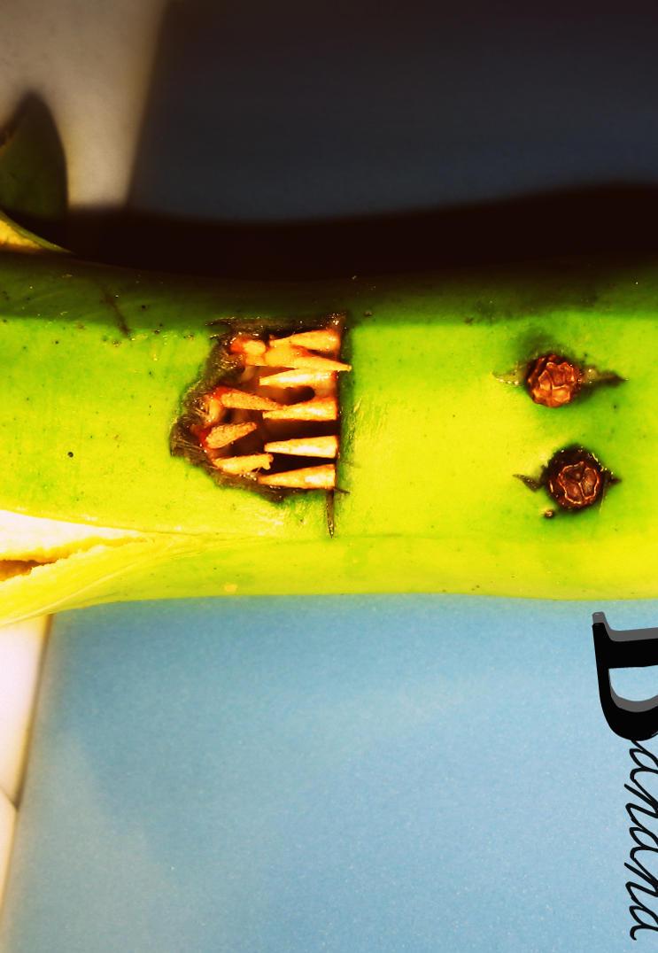 Evil Banana by Abii-Murder