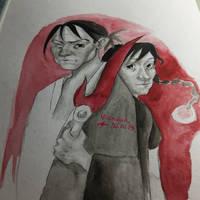 Mugen no junin - Manji and Rin