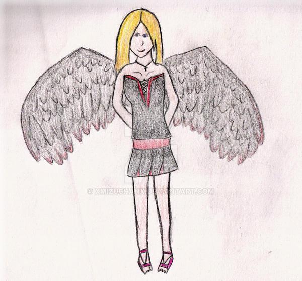 XmusicalXdramaXgirlX wit wings by xMizuchanx
