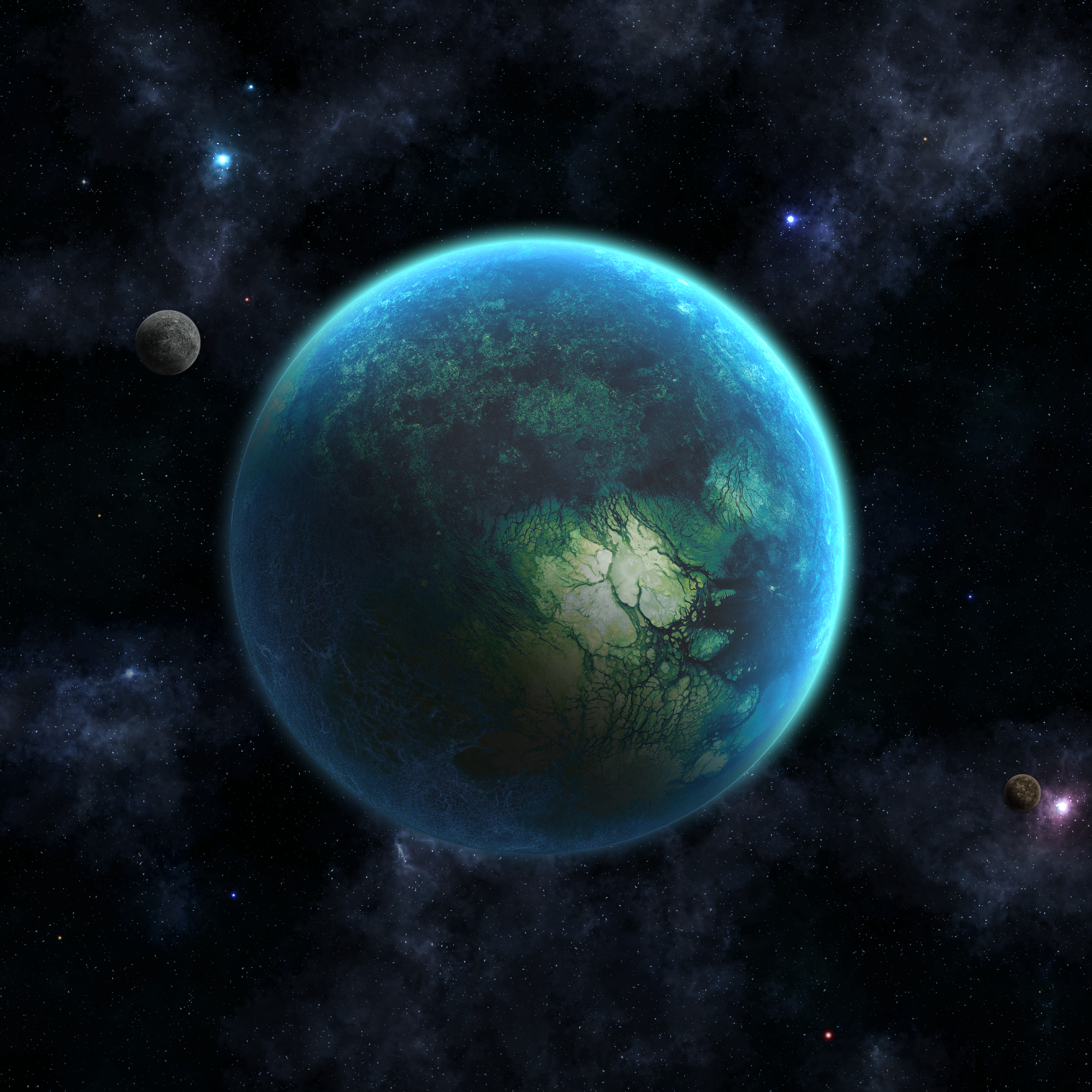 Water Planet by IO23 on DeviantArt