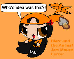 Classic Blossom and the Animal Jam Mouse Cursor by ...