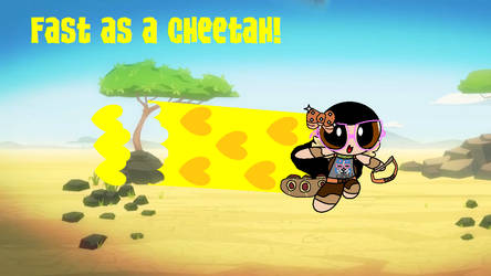 Fast as a cheetah!