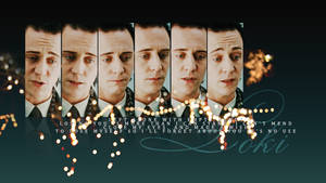 LOKI tom hiddleston wallpaper by Alekt0o