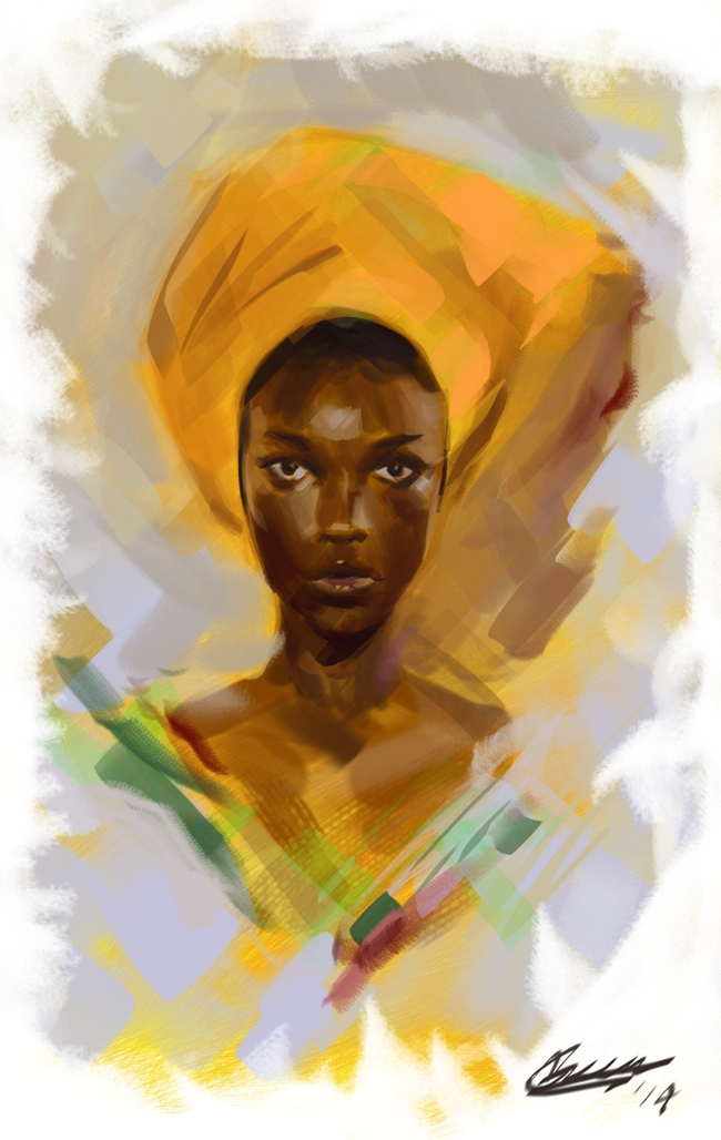 Portraitstudy by ngreene