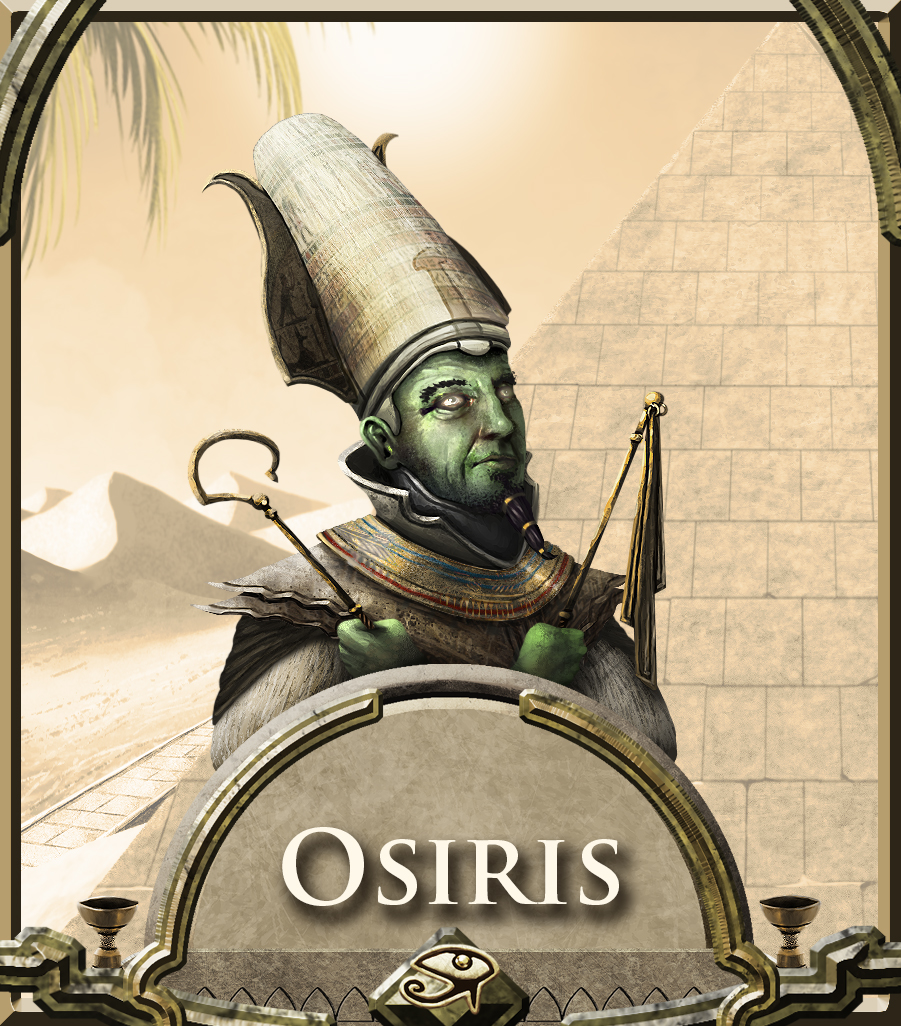 Osiris, Lord of the Beyond (God 5/12) by Skrubhjert on ...