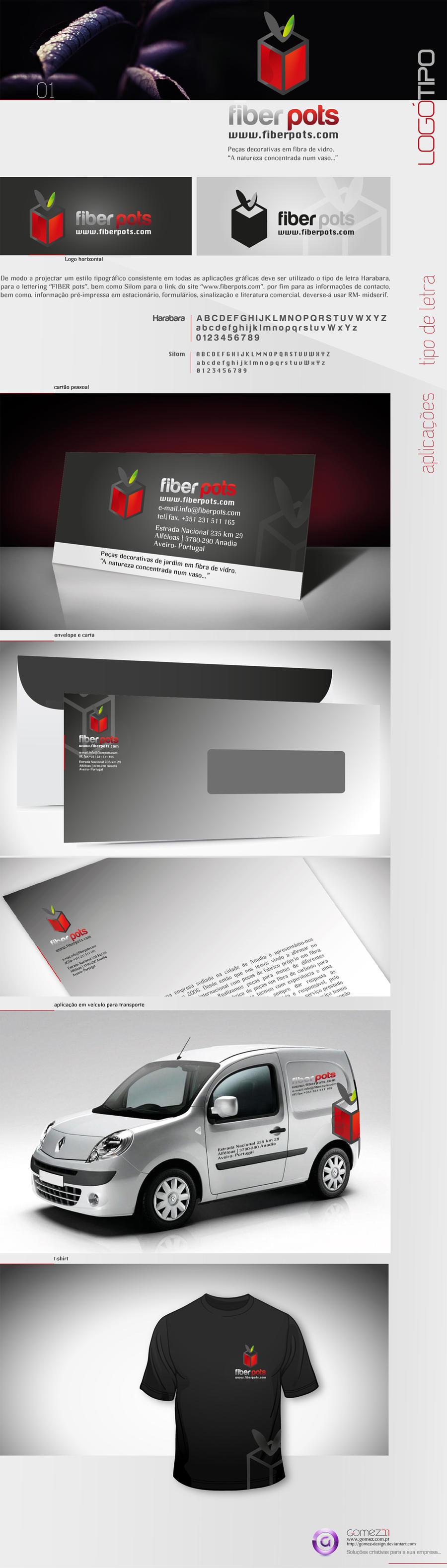 fiberpots_identity by gomez-design
