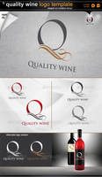 Quality wine logo
