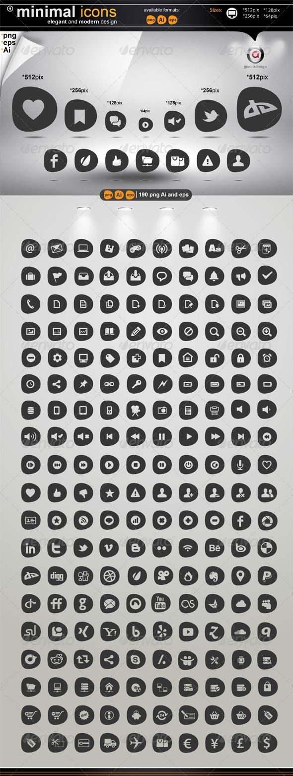 Minimal Icons by gomez-design