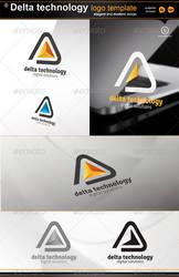 Delta Technology Logo by gomez-design