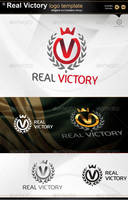 Real Victory logo by gomez-design