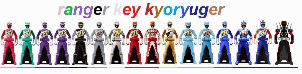 ranger key kyoryuger by N0variel on DeviantArt