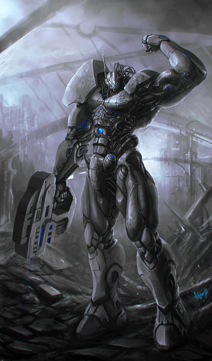 cyborg by BalagurXD
