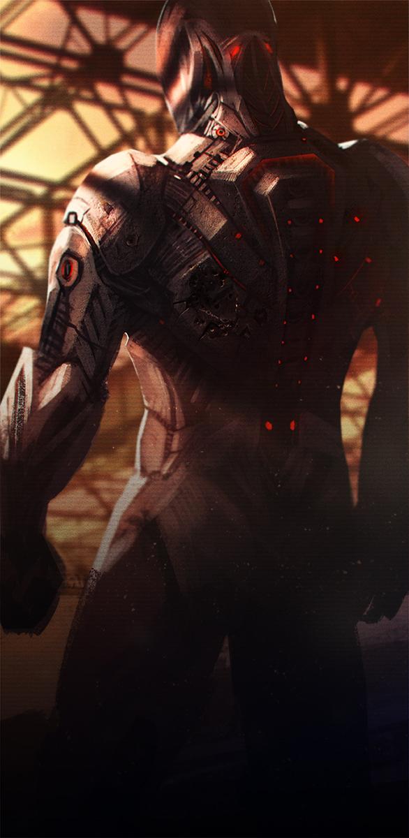armor red nova by BalagurXD