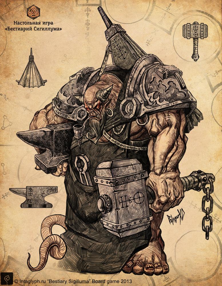 Ferrarius_hell's_blacksmith by BalagurXD