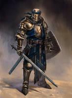 knight concept by GeorgeVostrikov