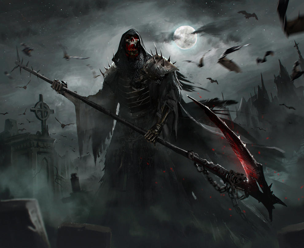 reaper speedpaint by GeorgeVostrikov