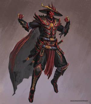 Dark Raiden altdesign