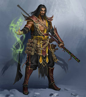 Shang Tsung fanart\redesign