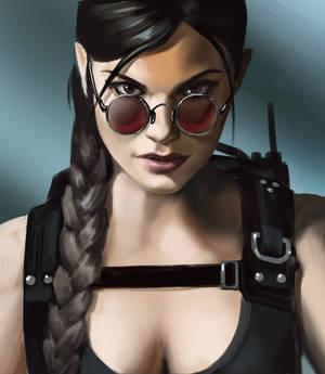 Lara Croft fanart