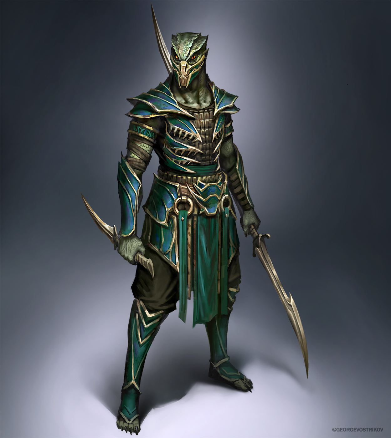 Zaterrian warrior