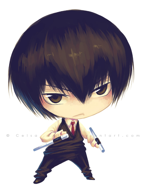 Chibi: Hibari by Celsa