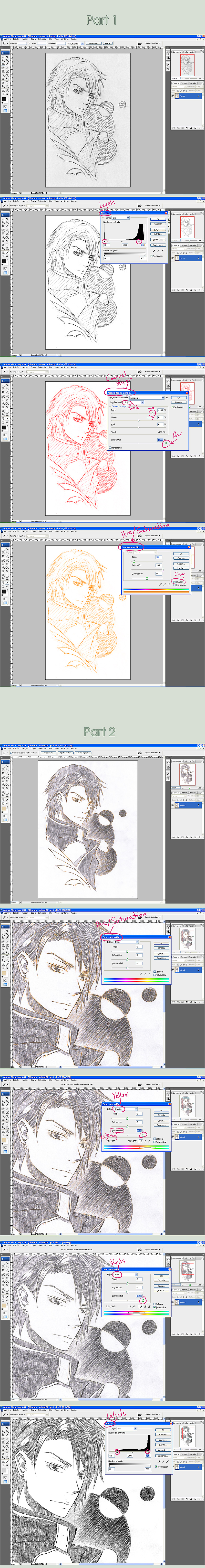Tutorial: Cleaning sketches by Celsa