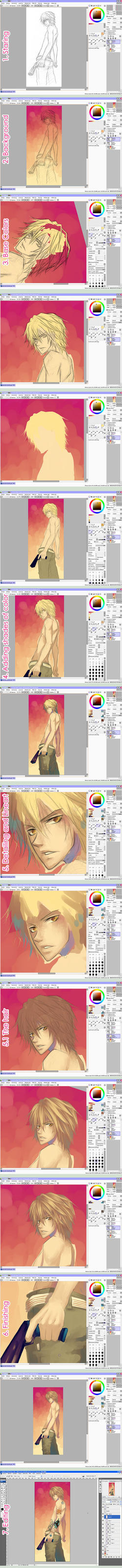 Tutorial: Painting by Celsa