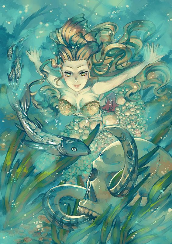 COMMISSION: Underwater Wella