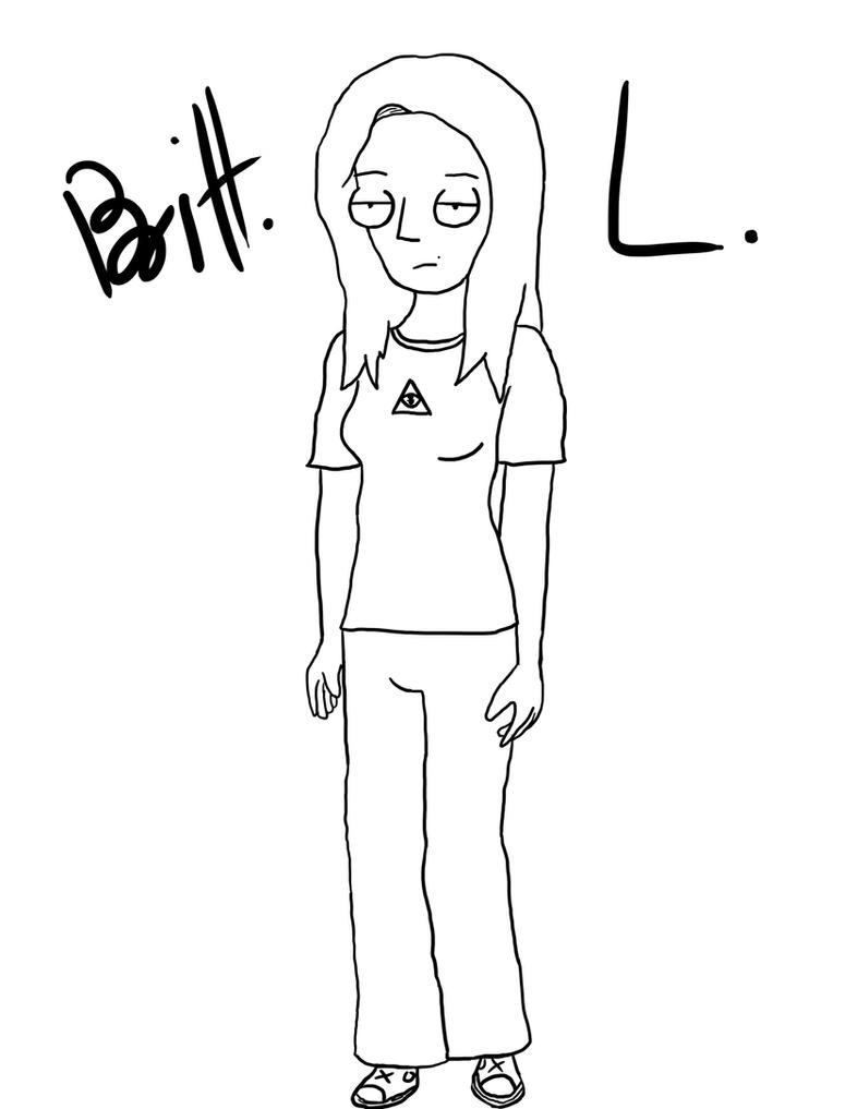 Rick and morty oc britt lylac jr by vantentheknight on for Rick and morty craft list