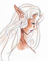 Elda: Side Profile by ghostsymbol