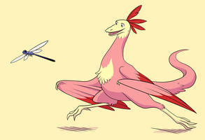 Archeopteryx by sweet-guts