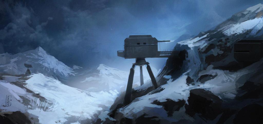Facilities on Snowy Mountain by kusanagimotoko100