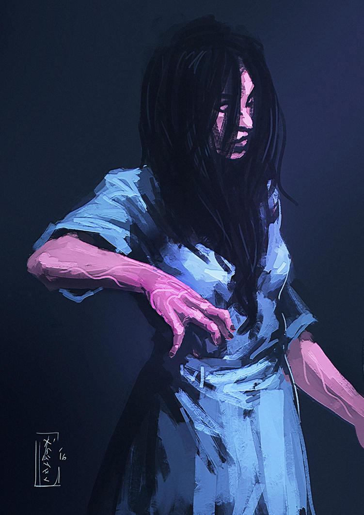 Sadako by kusanagimotoko100